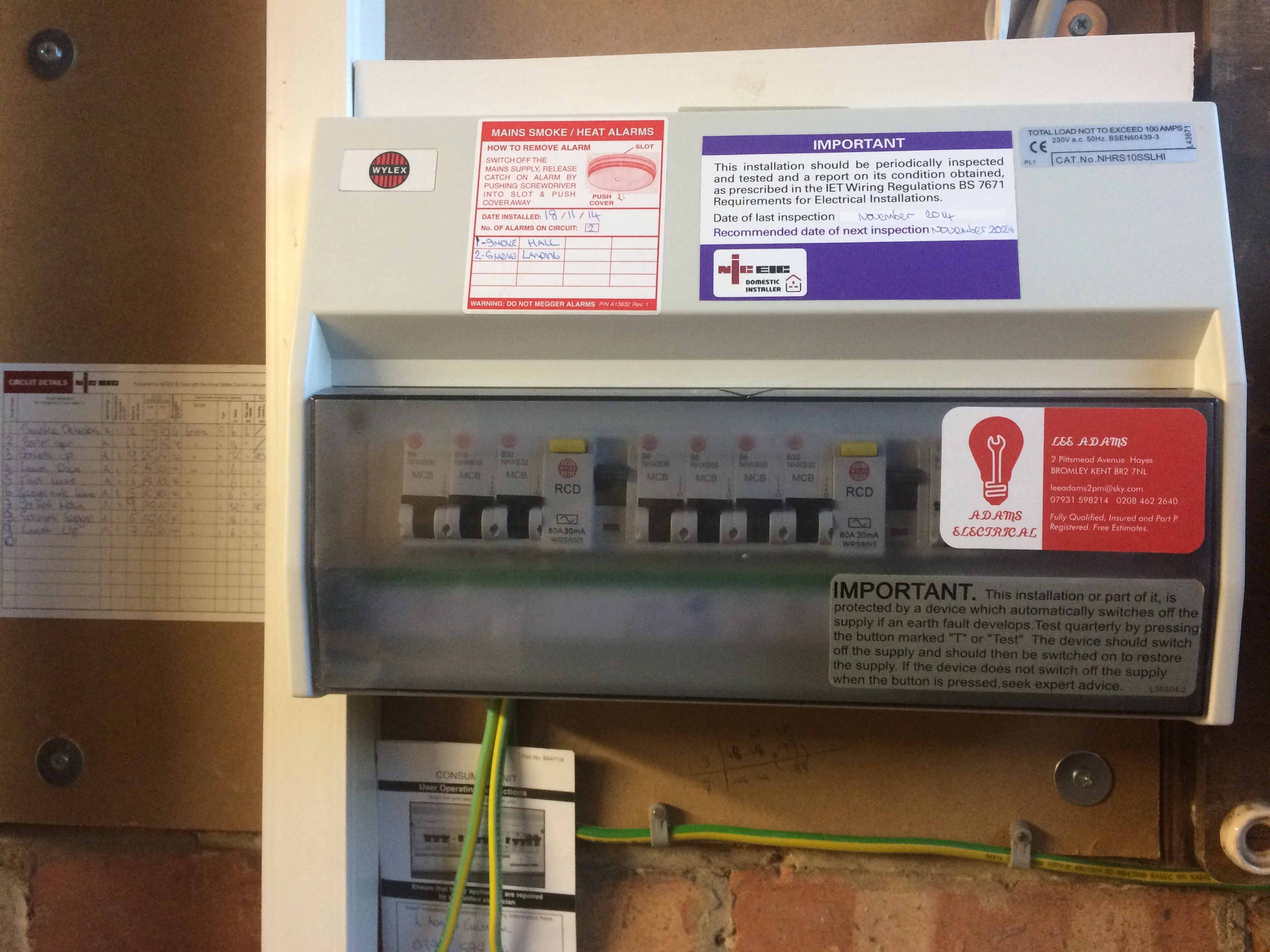Rewires and Fuseboards/Consumer Units | Adams Electrical