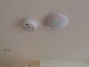Wireless Access Point & Smoke Alarm